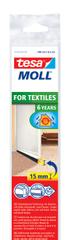 Tesa tesamoll®Kartáčová lišta pod dveře, na koberce, bílá, 1m:43mm