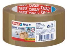 Tesa tesa®Balicí páska ULTRA STRONG, PVC, přír.kaučuk, nehlučná, hnědá, 66m:50mm