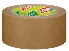 Tesa tesa®Balicí páska PAPER ecoLogo®, papírová, odolná, světle hnědá, 50m:50mm
