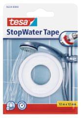 Tesa tesa® Instalatérská teflonová izolační páska do závitu, bílá, 12m:12mm