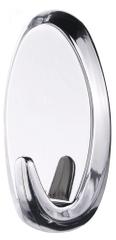 Tesa Veľké, oválne, samolepiace háčiky tesa Powerstrips® do kúpeľne, nosnosť 2 kg, odnímateľný a znovu použiteľný