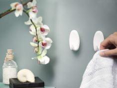 Tesa tesa Powerstrips® Háčky, 1ks, velký, oválný, plastový, bílý, nosnost 2 kg