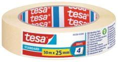 Tesa tesa® Maskovacia páska STANDARD, odstrániteľná do 2 dní, 50m x 25mm