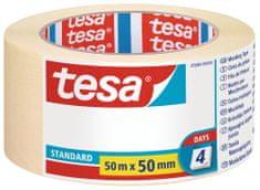Tesa tesa® Maskovací páska STANDARD, odstranitelná do 2 dnů, 50m:50mm