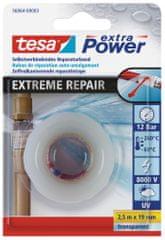 Tesa tesa®Butilová páska EXTREME REPAIR, samosvařitelná, UV odolná, transparentní, 2,5m:19mm
