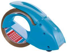 """Tesa tesa® Ruční odvíječ balící pásky PACK""""N""""GO s páskou, modrý, pro role 66m:50mm"""