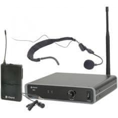 Chord NU1-N hlavový UHF bezdrátový mikrofonní systém, 863.1 MHz