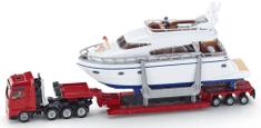 SIKU Preprava ťažkého nákladu s jachtou, 1:87