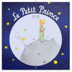 Kalendář 2021 poznámkový: Malý princ, 30 × 30 cm