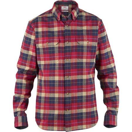 Fjällräven Singi Heavy Flannel Shirt, chilli, xl