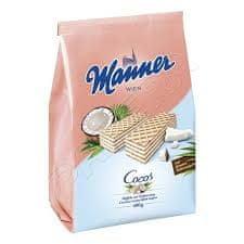 Manner kokosové oplatky 400g