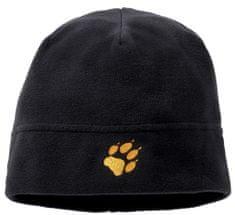Jack Wolfskin Dziecięca czarna czapka REAL STUFF KIDS 1902341-6000495