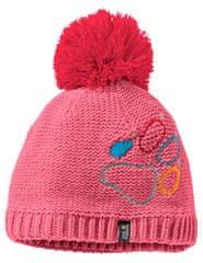 Jack Wolfskin kapa za djevojčice Paw Knit Cap Kids 1906591-2172