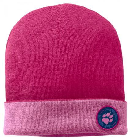 Jack Wolfskin dekliška kapa Paw Rib Hat Kids 1907321-2010, S, roza