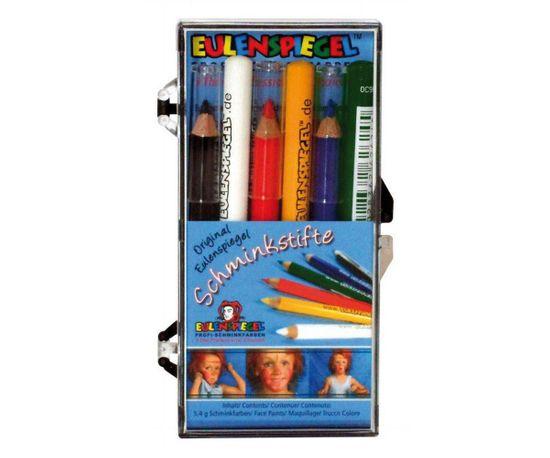 Kraftika Speciální tužky na obličej 6 barev