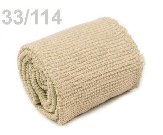 Kraftika 1sada 114 béžová sv. elastické náplety šíře 7cm sada (2x