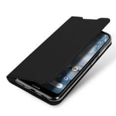 Dux Ducis Skin Pro knížkové kožené pouzdro na Nokia 4.2, černé