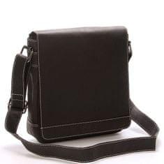 Bellugio Pánská kožená dokladovka taška WILD Z3 černá