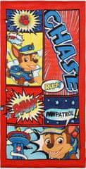 Sun City Osuška Paw Patrol / ručník Paw Patrol Comics 70x140cm