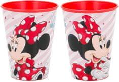 Stor Plastový kelímek Minnie Mouse / hrnek Minnnie Mouse 260 ml