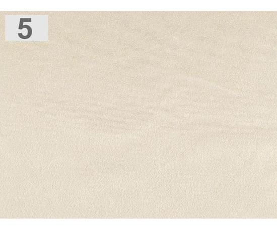 Kraftika 1m béžová sv. imitace semišové kůže elastická, samet