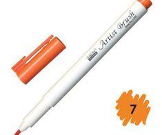 Marvy Popisovač 1100 artist brush orange,