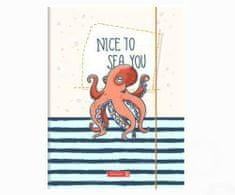 Brunnen Desky na výkresy a3 s gumičkou chobotnice,