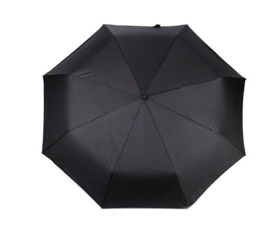 Kraftika 1ks erná velký rodinný skládací vystřelovací deštník