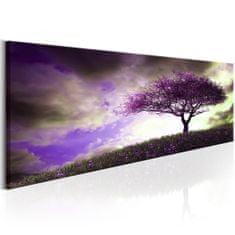 Murando DeLuxe Obraz Strom fialový Velikost: 90x30 cm