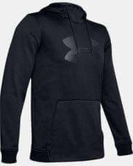 Under Armour Fleece Big Logo Graphic majica s kapuljačom, crna