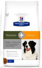 Hill's PD Canine Metabolic+Urinary hrana za pse, 12 kg
