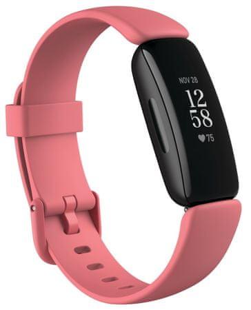 Fitbit opaska fitness Inspire 2, Desert Rose/Black