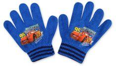 SETINO Chlapecké rukavice - Auta - světle modrá - 10x13cm