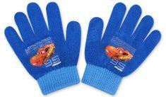 SETINO Chlapecké rukavice - Auta 95 - světle modrá - 10x13cm
