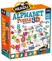 Headu Montessori: 3D puzzle Abeceda