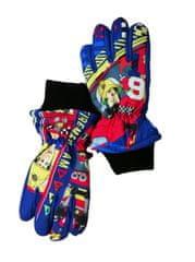 """SETINO Chlapčenské lyžiarske rukavice """"Požiarnik Sam"""" - modrá"""