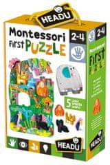 Headu Montessori: Moje prvé puzzle - Džungľa