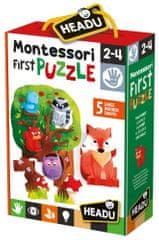 Headu Montessori: Moje prvé puzzle - Les