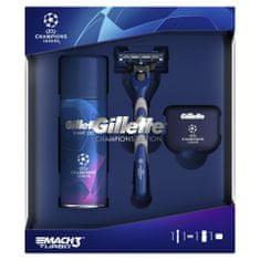 Gillette Mach3 Turbo ajándék csomagolás borotva + borotvagél + táska