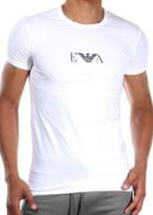 Emporio Armani Pánské tričko Emporio Armani 111267 CC715 bílá 2 kusy