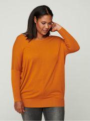 Zizzi oranžový lehký svetr