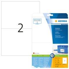 Herma Superprint 5064 etikete, A4, 210 x 148 mm, bele
