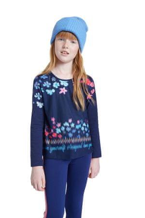 Desigual modra dekleta majica TS Texcoco - 13/14