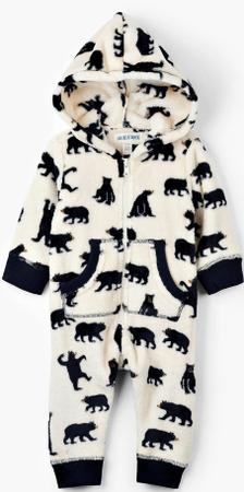 Little Blue House ubranko dziecięce 58-69 biały/czarny