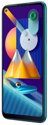 Samsung Galaxy M11, velkokapacitní baterie, dlouho vydrží, rychlé nabíjení