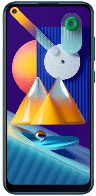 Samsung Galaxy M11, velký displej, trojitý ultraširokoúhlý fotoaparát, NFC, LTE, čtečka otisků prstů, extrémní baterie, velkokapacitní, dlouhá výdrž, 8jádrový procesor