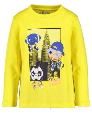 Blue Seven fiú póló, 104, sárga