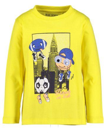 Blue Seven fiú póló, 128, sárga