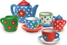 SES Maľovanie čajovej súpravy
