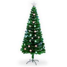 Vianočný stromček Jedľa Tajga s LED osvetlením 180 cm